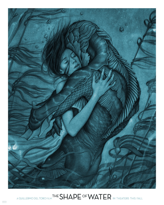 The Shape of Water Poster Artwork