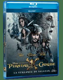 Piratas del Caribe La Venganza de Salazar Blu-ray
