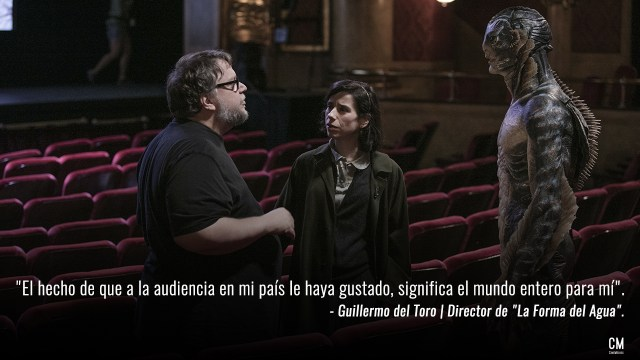 Guillermo del Toro La Forma del Agua The Shape Of Water