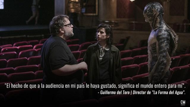 Guillermo del Toro La Forma del Agua The Shape Of Water