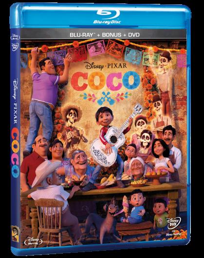Coco Combo Blu-Ray DVD Bonus