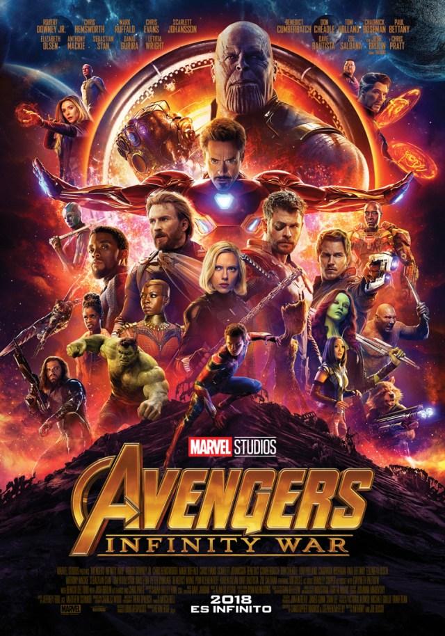 Póster Marvel Studios Avengers Infinity War.jpg