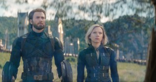 Marvel Studios' AVENGERS: INFINITY WAR..L to R: Captain America/Steve Rogers (Chris Evans) and Black Widow/Natasha Romanoff (Scarlett Johansson)..Photo: Film Frame..©Marvel Studios 2018