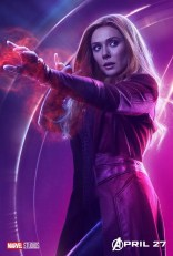 posters individuales avengers infinity war scarlet witch