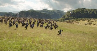 Marvel Studios' AVENGERS: INFINITY WAR..Black Panther/T'Challa (Chadwick Boseman) in Wakanda..Photo: Film Frame..©Marvel Studios 2018