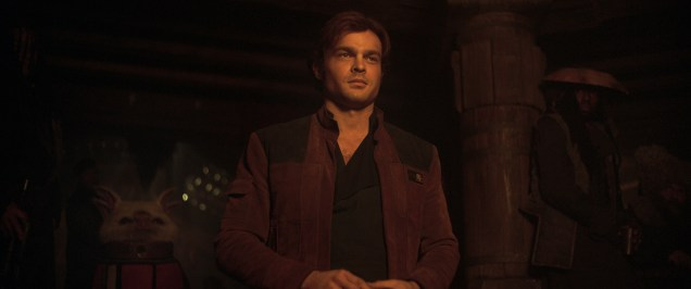 Alden Ehrenreich is Han Solo in SOLO: A STAR WARS STORY.