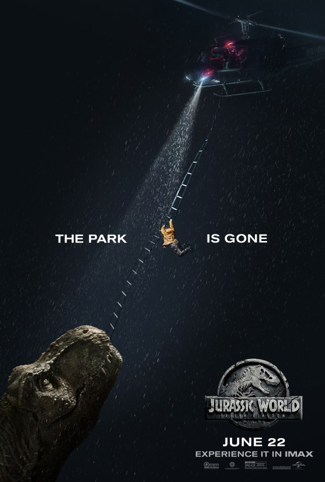jurassic world el reino caido imax poster