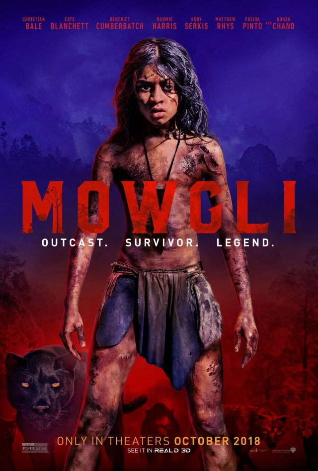 mowgli andy serkis trailer poster