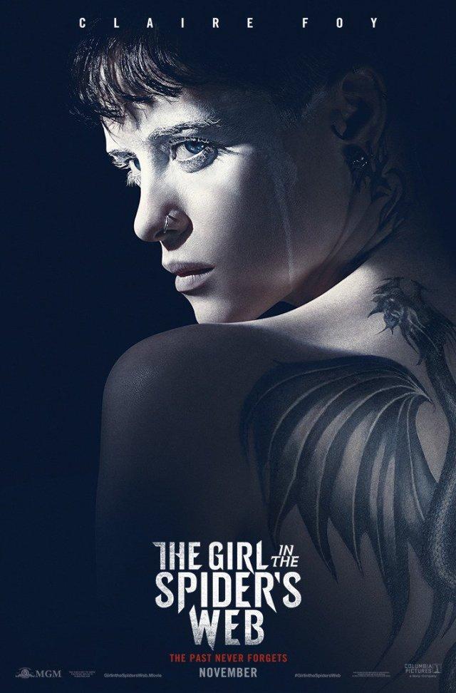 la chica en la telaraña poster oficial