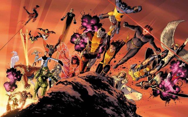 cyclops-fantastic-four-hank-mccoy-beast-iron-man-marvel-comics-wallpaper