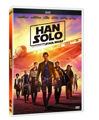 PACK 3D DVD HAN SOLO