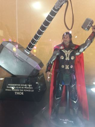 Expo de Marvel Studios en Oasis Coyoacán