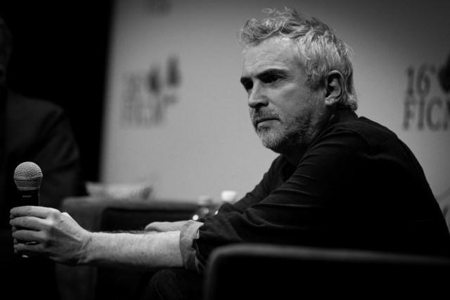Alfonso Cuaron Excelencia Artistica FICM Roma Festival Internacional de Cine de Morelia 3.JPG