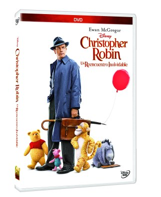PACK 3D DVD CHRISTOPHER ROBIN