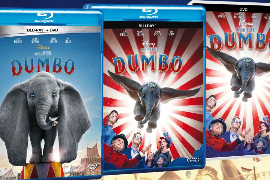 Detalles y fecha de estreno del blu-ray de 'Dumbo'