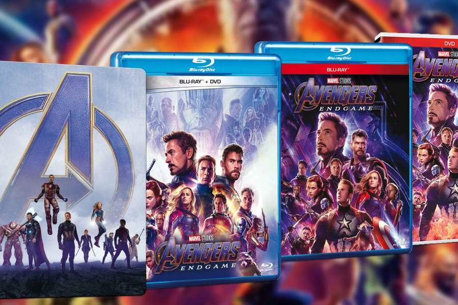 Detalles y fecha de estreno del blu-ray y DVD de 'Avengers: Endgame'