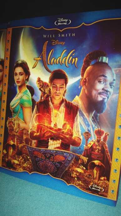 Aladdin blu ray
