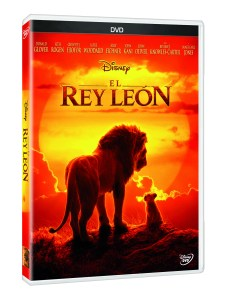 PACK 3D DVD EL REY LEON LIVE ACTION