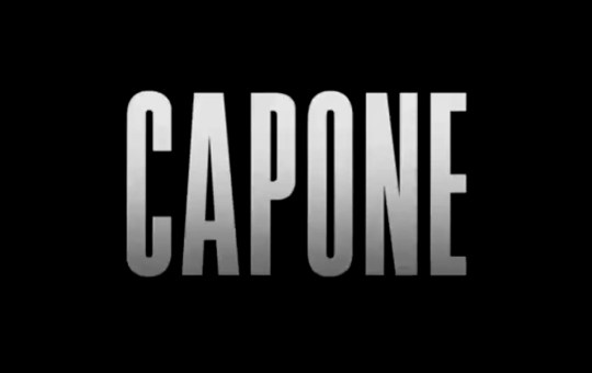 Imagen logo película Capone