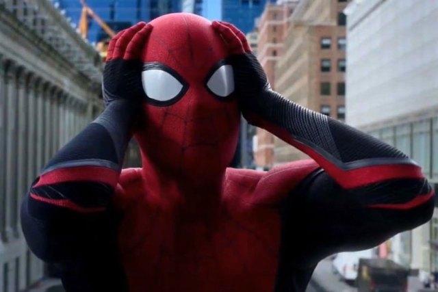 fotografía de spider-man lejos de casa