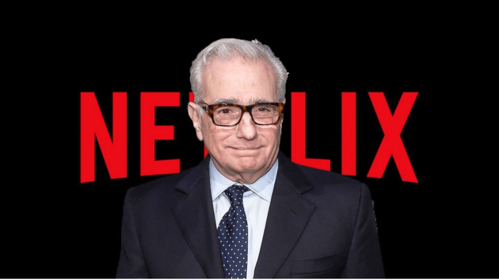 martin scorsese en imagen de Netflix