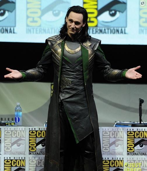 tom hiddleston como loki en san diego comic con