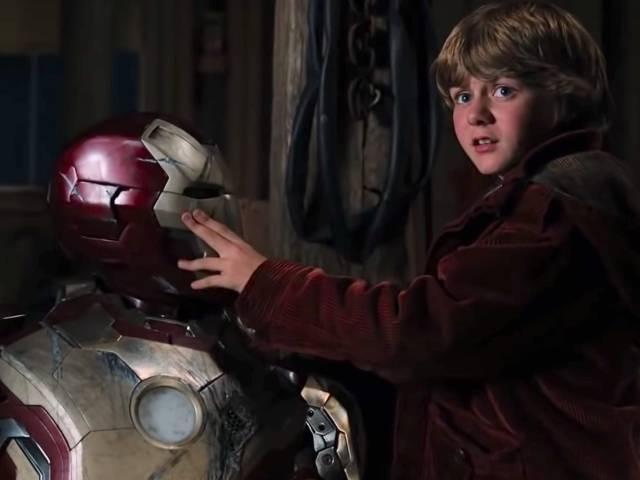 Fotografía de Ty Simpkins en Iron Man 3