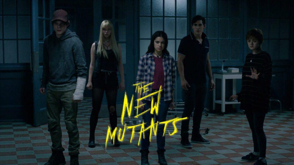 Imagen de The New Mutants, Los nuevos mutantes, con logo