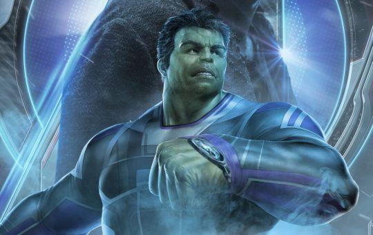 imagen de profesor hulk en avengers: endgame