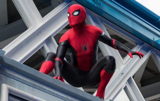 imagen de spider-man en el ucm