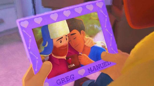 Imagen de Out, cortometraje de Pixar