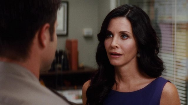 Fotografía de Courtney Cox en Scream 4