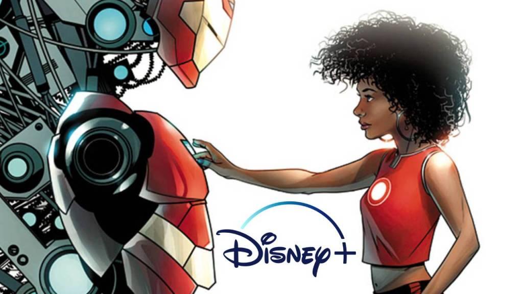 ilustración del cómic iron heart