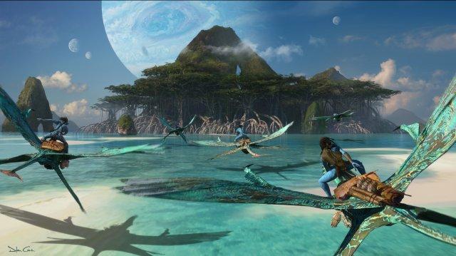 Boceto de Avatar 2
