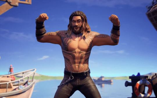 Jason Momo llega como Aquaman a Fortnite en su temporada 3