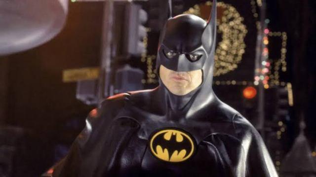 Fotografía de Michael Keaton como Batman