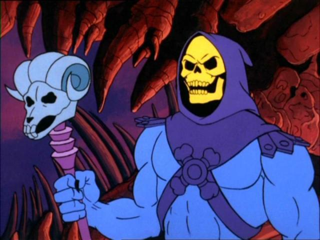 Skeletor en Masters of the Universe