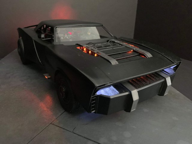 Imágenes del batimóvil en The Batman