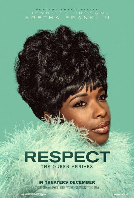 Póster oficial de la película Respect