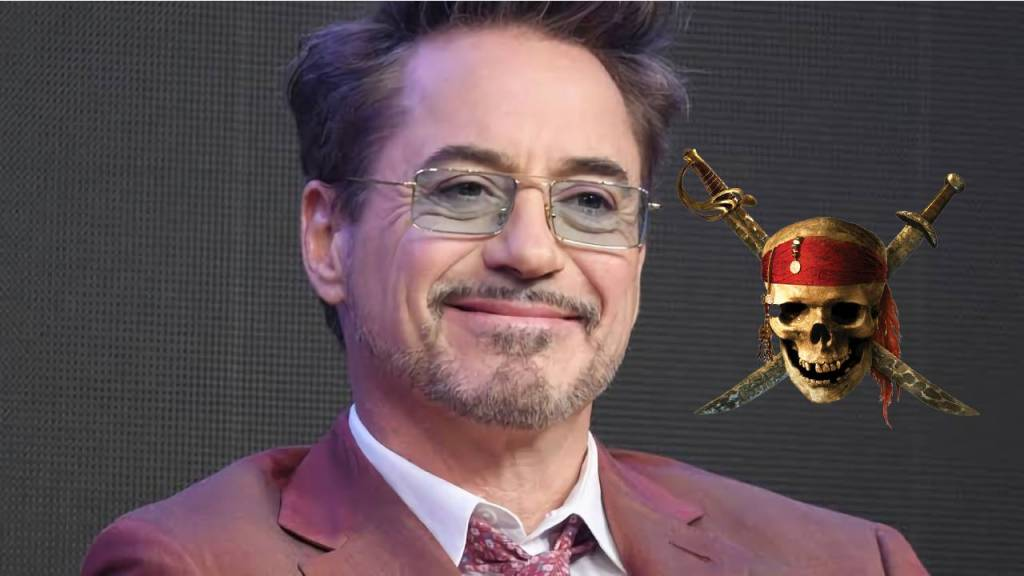 Robert Downey Jr. en Piratas del Caribe