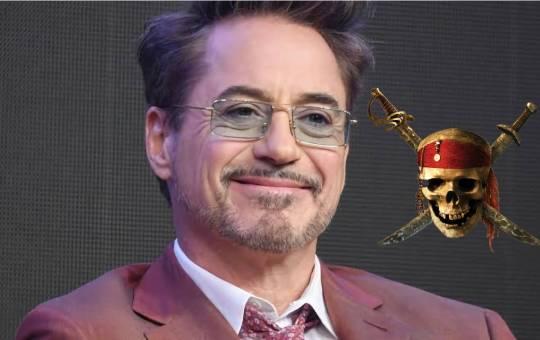 Robert Downey Jr. en Piratas del Caribe