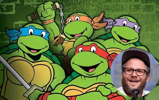 Ilustración de las Tortugas Ninja
