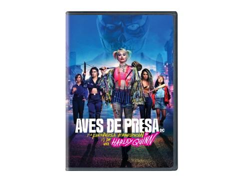 DVD de Aves de presa (y la fantabulosa emancipación de una Harley Quinn)