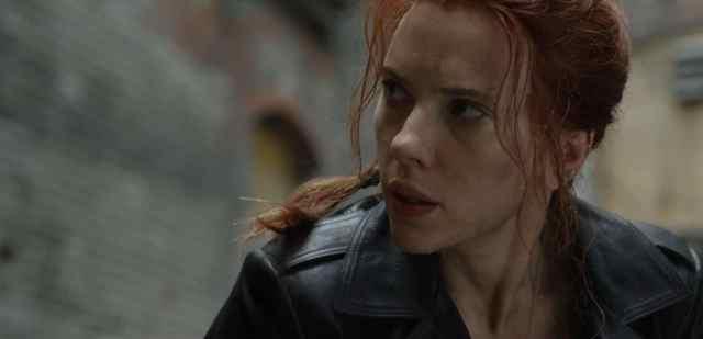 Fotografía de Scarlett Johansson en Black Widow