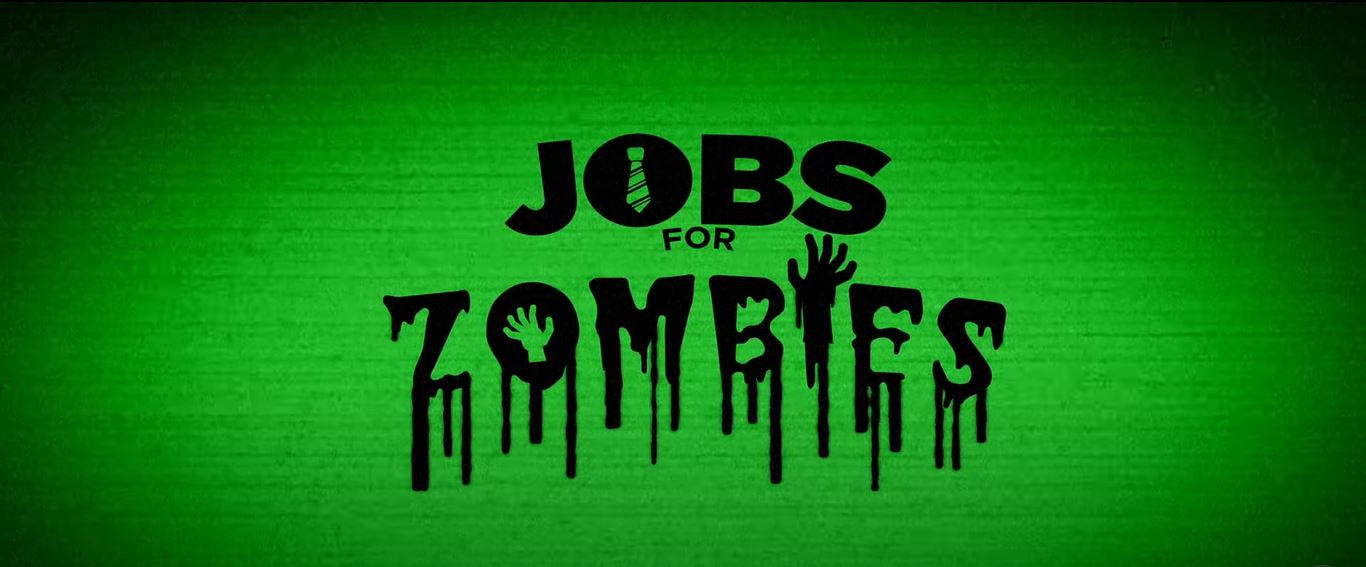 Logo de Jobs for Zombies, serie mexicana de cortometrajes