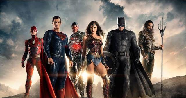 Fotografía del elenco de Justice League