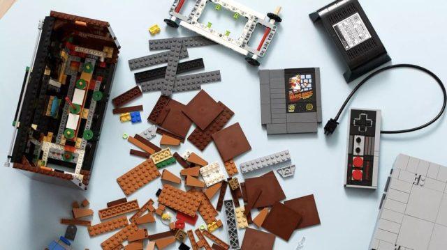 Fotografía del set LEGO Nintendo