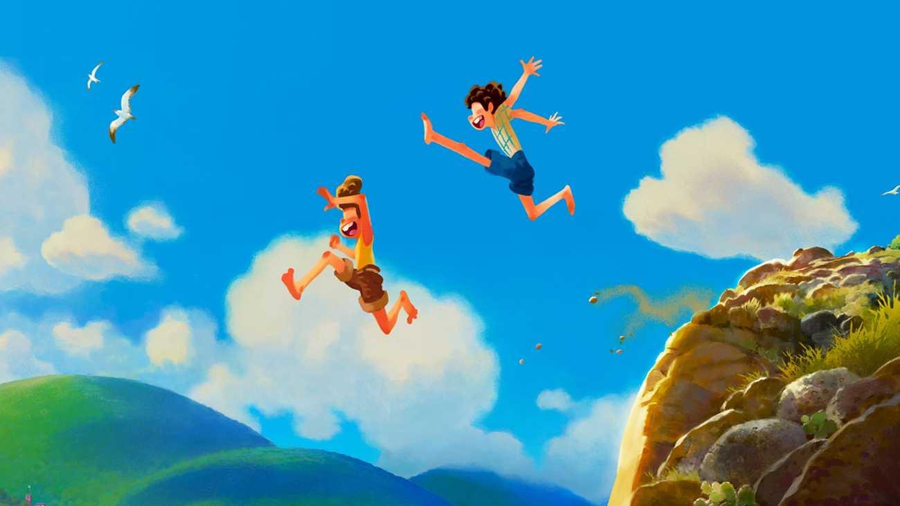 Imagen de Luca, nueva película animada de Disney y Pixar