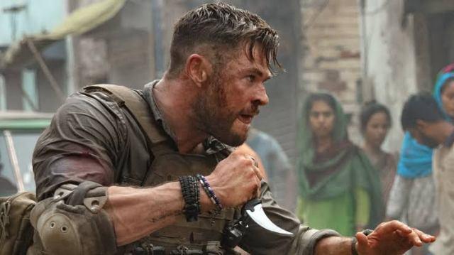 Fotografía de Chris Hemsworth en Misión de rescate