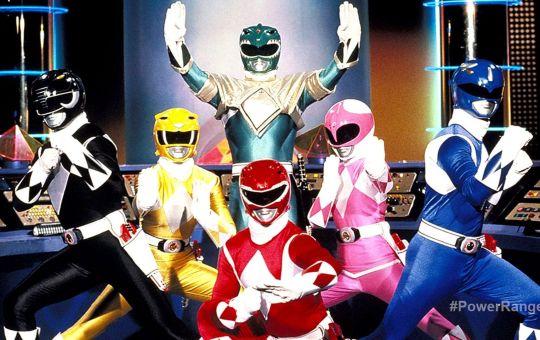 Fotografía de Power Rangers, serie de los 90